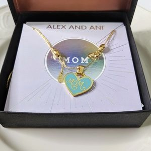 Alex and Ani Gold Color Infused Mom Necklace NEW